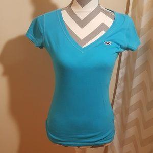 HOLLISTER short sleeve v neck
